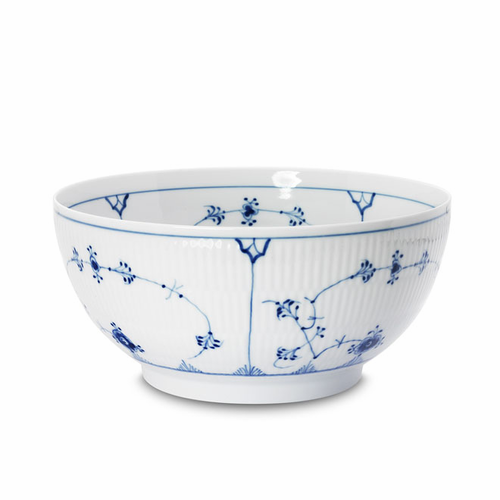 Royal Copenhagen Blue Fluted Plain Serving Bowl (Small)