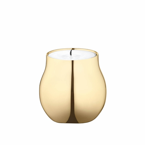 Cafu Tealight, Gold Plated - 2.3""