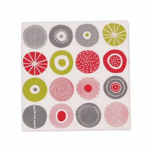 Candy Paper Napkins, Pack of 20