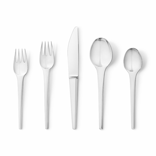 Georg Jensen Caravel 5-Piece Silver Cutlery Set