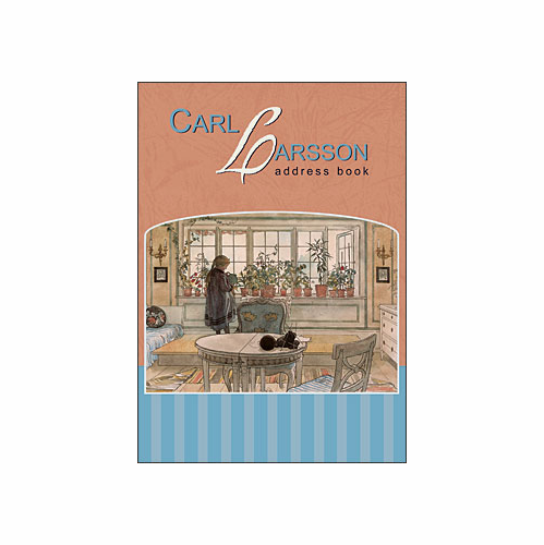 Carl Larsson Deluxe Address Book - Sold Out