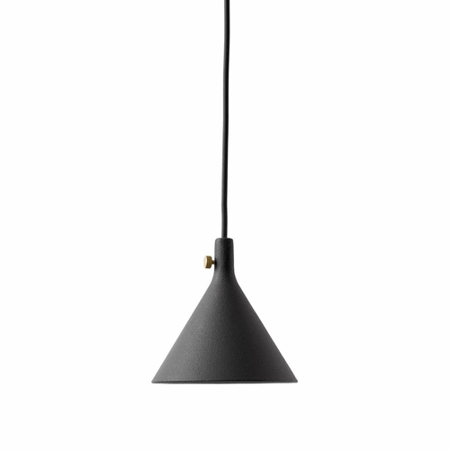 Cast Pendant, Shape 1, Black