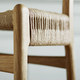 CH23 Dining Chair, Oak Soap, Natural Paper Cord