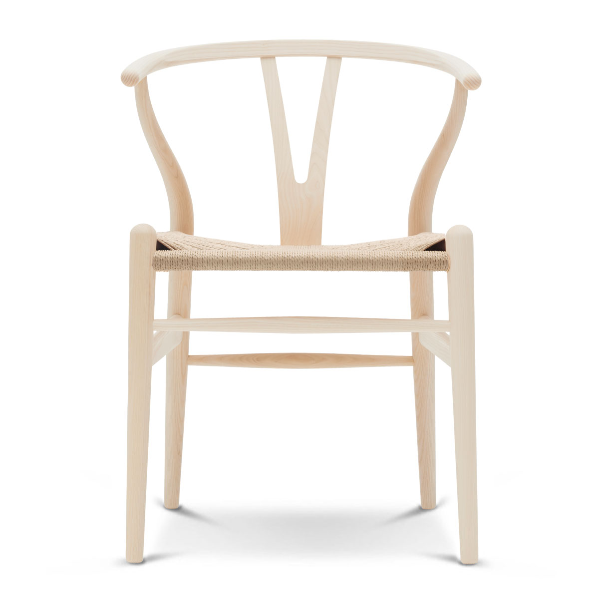 Ch24 Wishbone Chair Ash Oil Natural Paper Cord Seat
