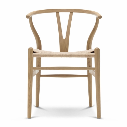 Floor Sample: CH24 Wishbone Chair, Oak Soap, Natural Paper Cord Seat