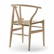 Floor Sample: CH24 Wishbone Chair, Oak Soap, Natural Paper Cord Seat - Quick Ship