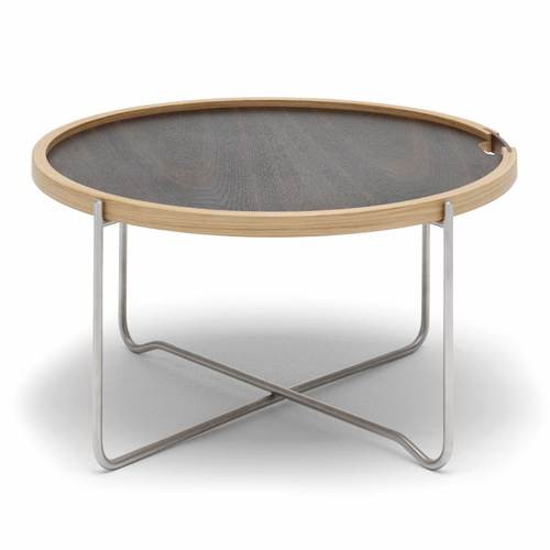 Carl Hansen & Son CH417 Tray Table, Oil Oak/Smoked Oak