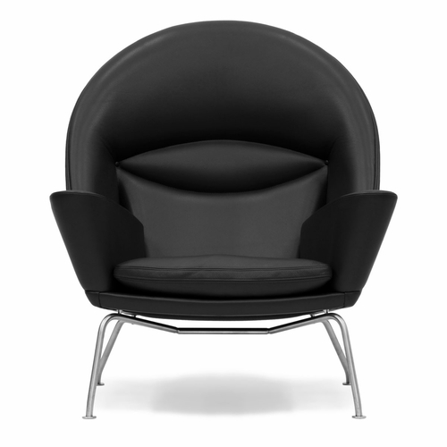 Hans Wegner Oculus Chair, Thor 301 Leather