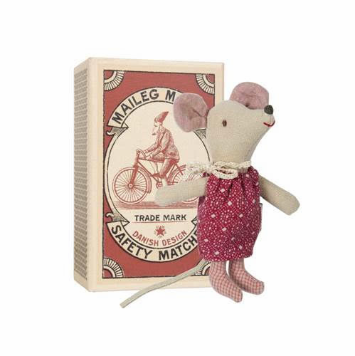 Christmas Mouse Sister with Bed Box - SOLD OUT