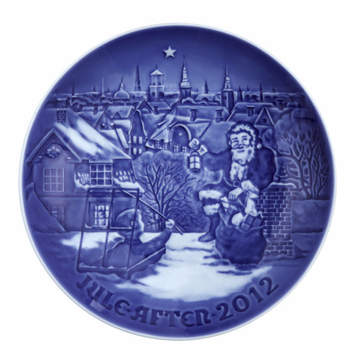 Christmas Plate 2012 (118th Edition)