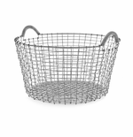 Basket 9.25 Gallons (35 Liters), Galvanized Steel