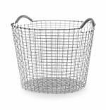 Classic Basket 13.25 Gallons (50 Liters), Galvanized Steel