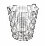 Classic Basket 21.25 Gallons (80 Liters), Galvanized Steel