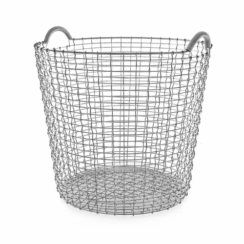 Classic Basket 17.25 Gallons (65 Liters), Galvanized Steel