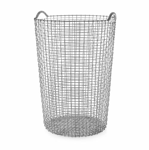 Classic Basket 31.75 Gallons (120 Liters), Galvanized Steel
