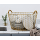 Classic Basket 9.25 Gallons (35 Liters), Brass