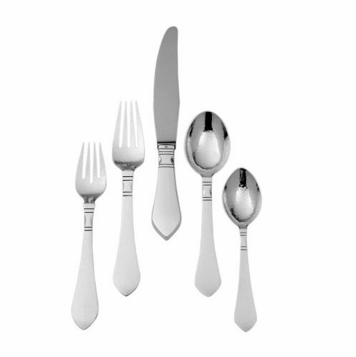 Georg Jensen Continental 5-Piece Silver Cutlery Set