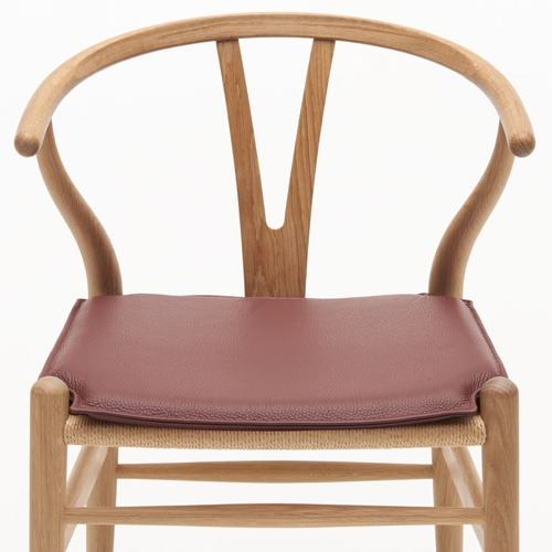 Carl Hansen & Son CU CH24 Cushion, Loke 7100 - Dark Red