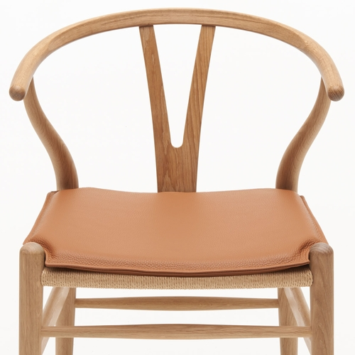 Carl Hansen & Son CU CH24 Cushion, Loke 7748 - Brown