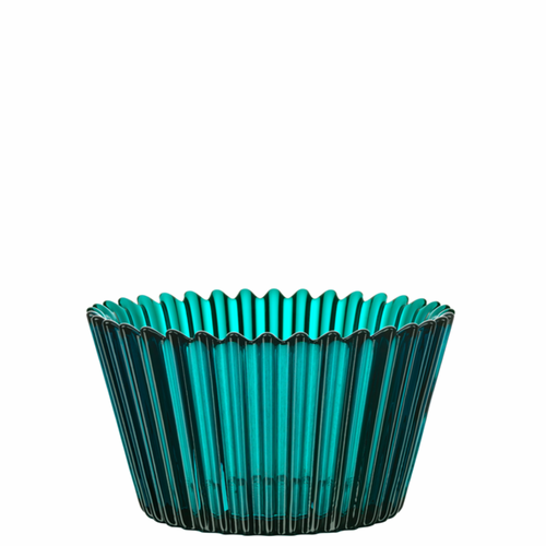 Cupcake Bowl, Small Turquoise
