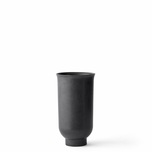 Menu Cyclade Vase, Small, Black