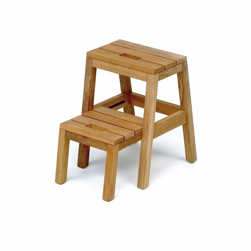 Dania Step Ladder, Teak