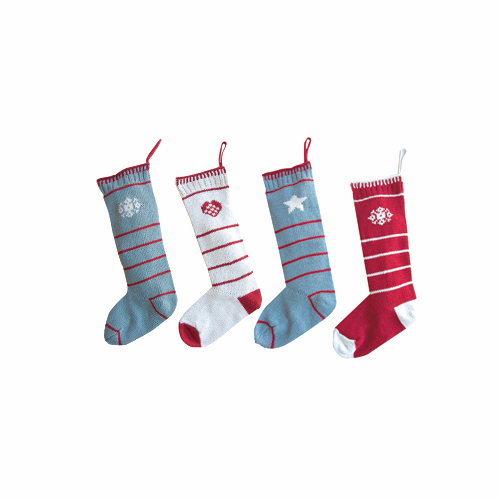 Danish Knitted Christmas Stockings