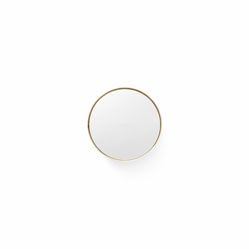 Darkly Mirror, Small, Brass