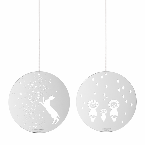 December Tales Hare and Eskimo Ornaments - SOLD OUT