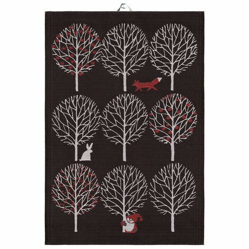 December Tea Towel, 19 x 28 inches