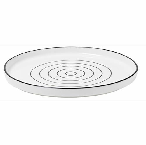 Design House Bono Dessert Plate (black/white) - SOLD OUT