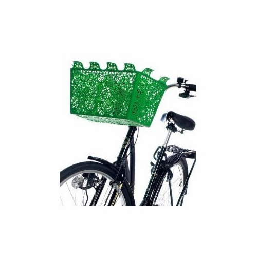 Design House Carrie Bicycle Basket (green) - Sold Out
