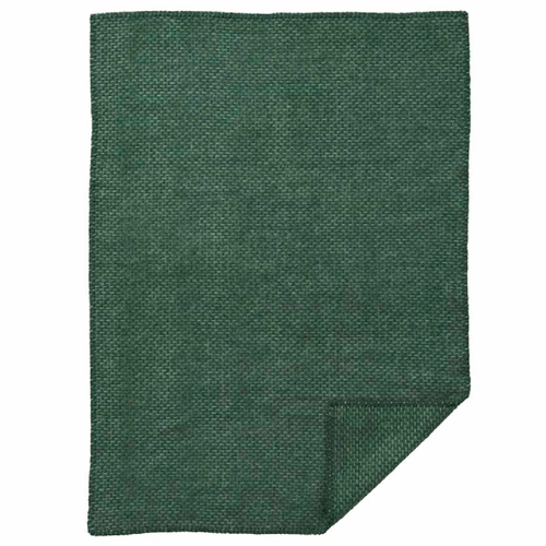 Domino Baby ECO Wool Blanket, Green