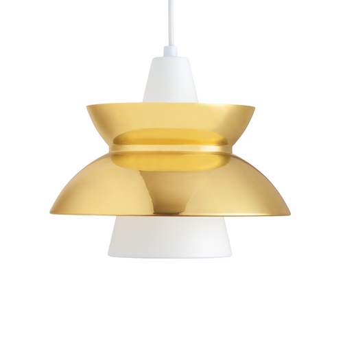 Louis Poulsen Doo-Wop Pendant Light, Brass