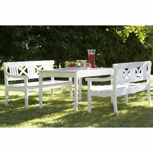 Skagerak Drachmann Kids Bench, White