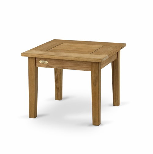 Drachmann Table, Teak - 34 Inches Square