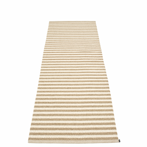 Duo Plastic Rug - Light Nougat/Vanilla, 2 3/4' x 8 1/2'