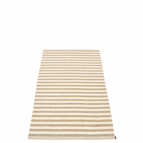Duo Plastic Rug - Light Nougat/Vanilla, 2 3/4' x 5 1/4'