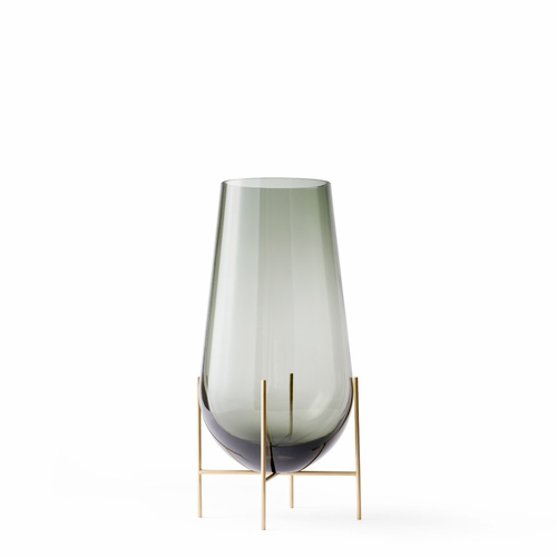 Menu Echasse Vase, Small, Smoke