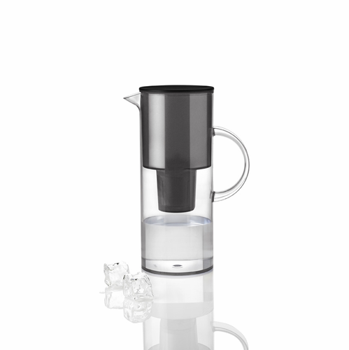 Stelton EM Jug with Water Filter, Smoke