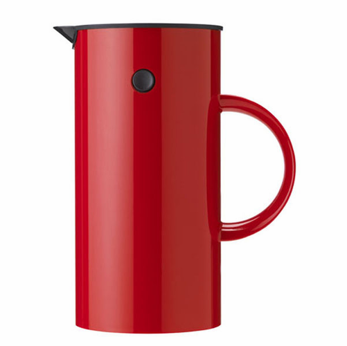 EM Press Coffee Maker, Red