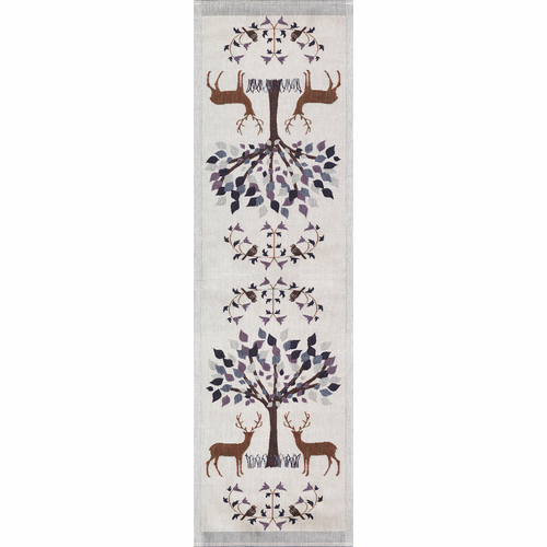 Fauna Table Runner, 14 x 47 inches