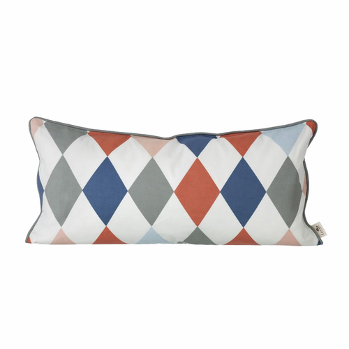 ferm LIVING Happy Harlequin Cushion