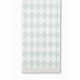 ferm LIVING Harlequin - Mint / Off White Wallpaper