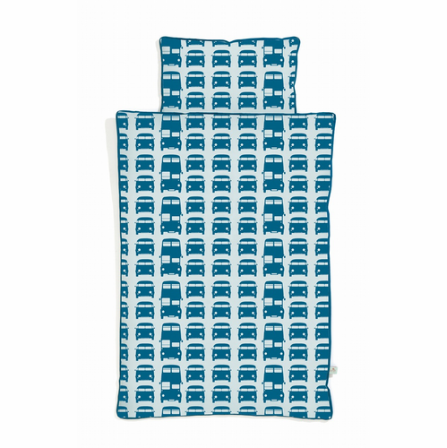 ferm LIVING Rush Hour Duvet and Pillow Cover - Junior