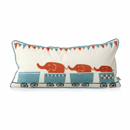 ferm LIVING Tiny Train Cushion
