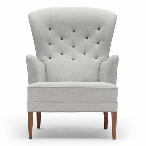 FH419 Heritage Chair, Oiled Walnut Legs, Basel Upholstery