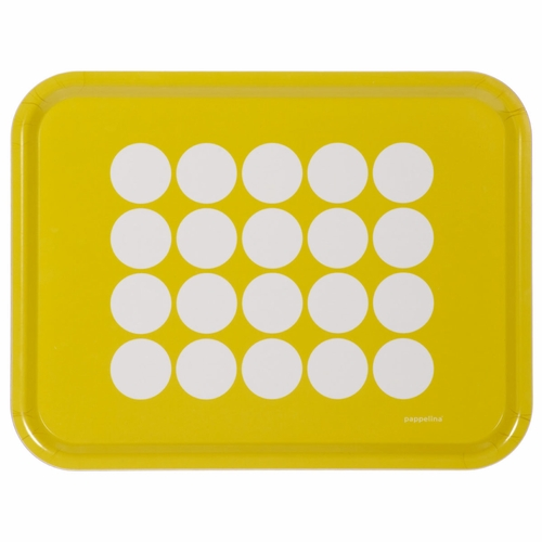 Fia Large Tray - Lemon