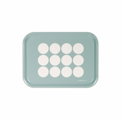 Pappelina Fia Small Tray - Pale Turquoise
