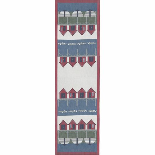 Ekelund Weavers Fiskelage Table Runner, 14 x 47 inches